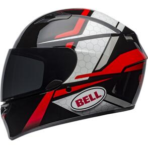 BELL MOTO HELMETS QUALIFIER FLARE BLACK/RED